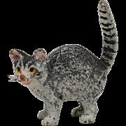 Vintage Miniature Vienna Bronze of Cat