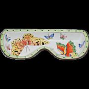 Kelvin Chen Hand Enamelled Copper Butterfly Eyeglass Holder Tray