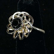 Sarah Coventry Black Beauty Ring
