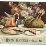 International Art Thanksgiving Postcard