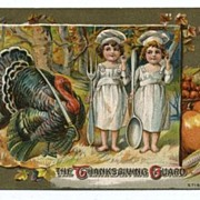 Thanksgiving Postcard The Thanksgiving Guard