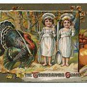 Thanksgiving Postcard The Thanksgiving Guard