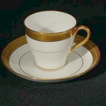 One Perfect Mintons Demitasse Cup and Saucer  H1935