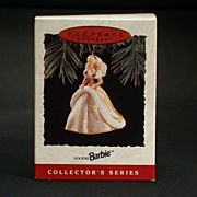 1994 Holiday Barbie Barbie Hallmark Ornament