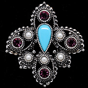 Sarah Coventry Imperial Pin/Pendant