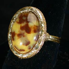Sarah Coventry Desert Flower Ring