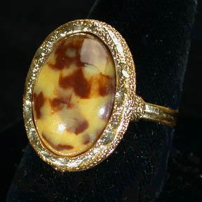 Sarah Coventry Desert Flower Ring