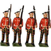 Britains Royal Scots Lead Toy Soldiers from Pre-war set 212