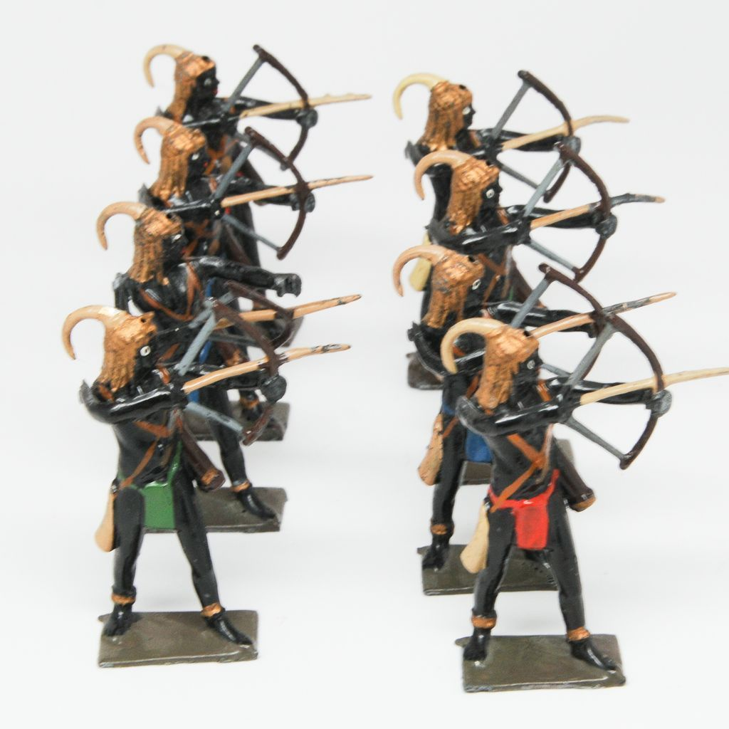 Britains 8 Togoland Warriors Set 202