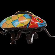 Linemar Wind Up Ladybug made in Japan