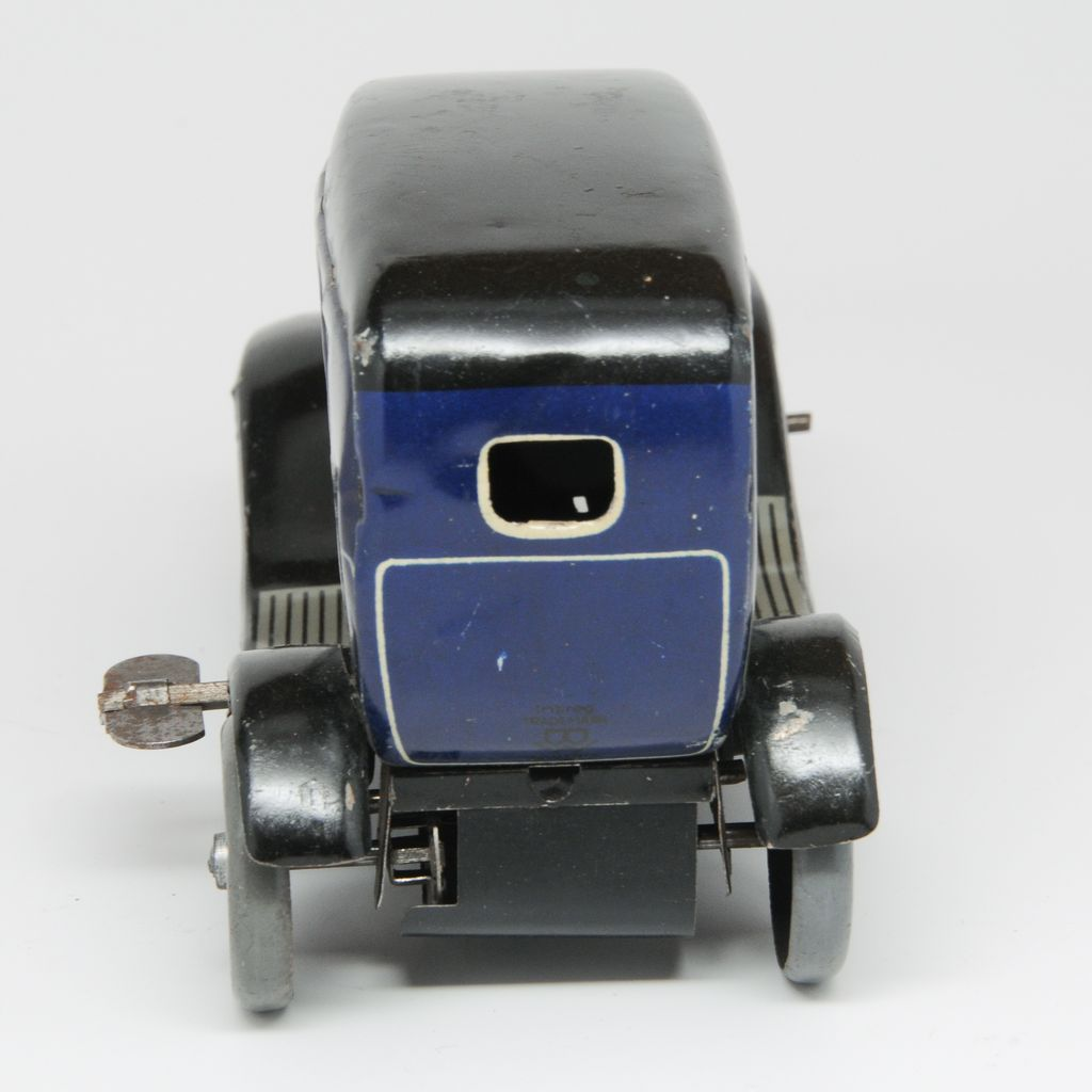25 30 Www Bing Com: Vintage Bing Tin Wind Up Car Late 1920's With Lady Driver
