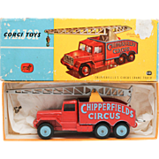 Corgi Chipperfields Circus Crane Truck Major Pack with early Lift-Off Box