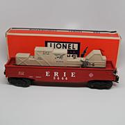 Lionel Post War No 3444 Animated Gondola Car MIB ERIE O Gauge