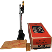 Lionel Post War No 151 O Gauge Semaphore  in Box