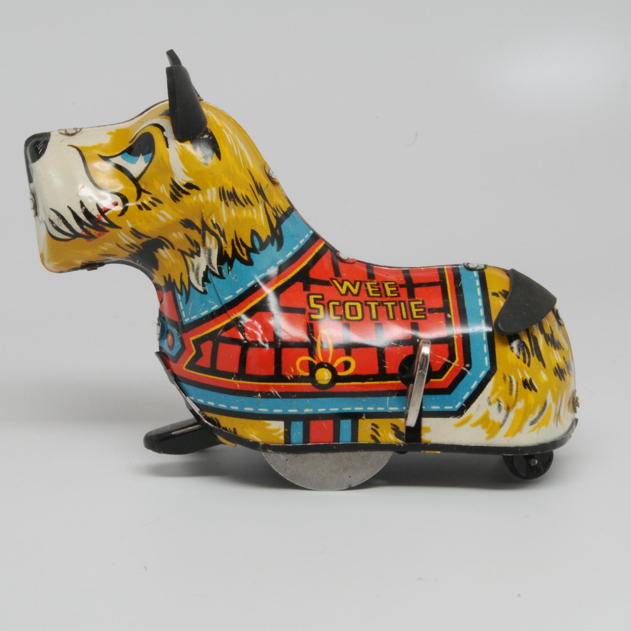 Marx Wee Scottie Wind-up Scottie Dog