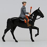 Britains Lead Gentleman Farrier Mounted #598 from Hunt Series