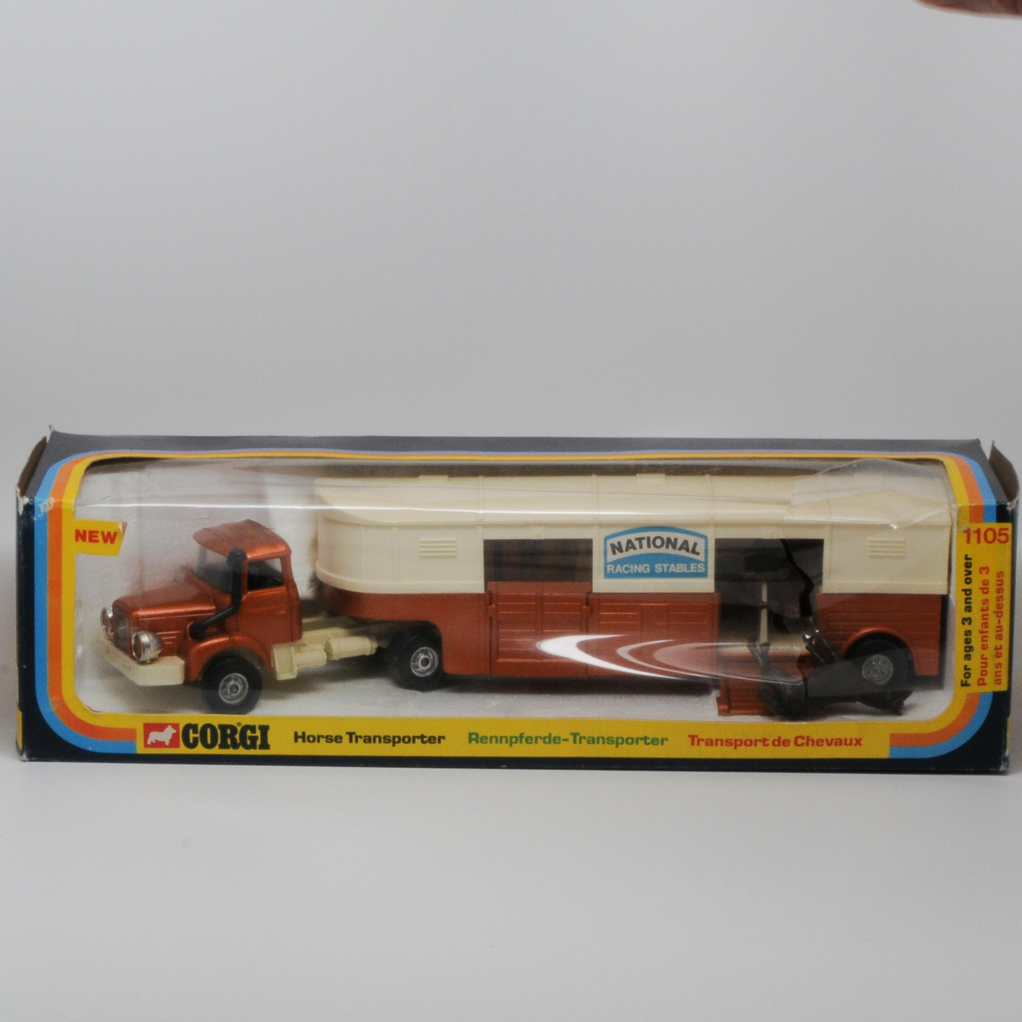 Corgi 1105 Berliet Horse Transporter Mint in Box