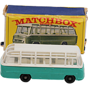 Matchbox 68B Mercedes Coach Turquoise Version.