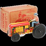 Courtland Walt Reach Wind Up Tractor No 6000 NMIB