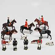 Britains Pre-War  Hunt Set 234 The Meet