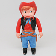 Marx Cowboy Cute Wind Up Toy