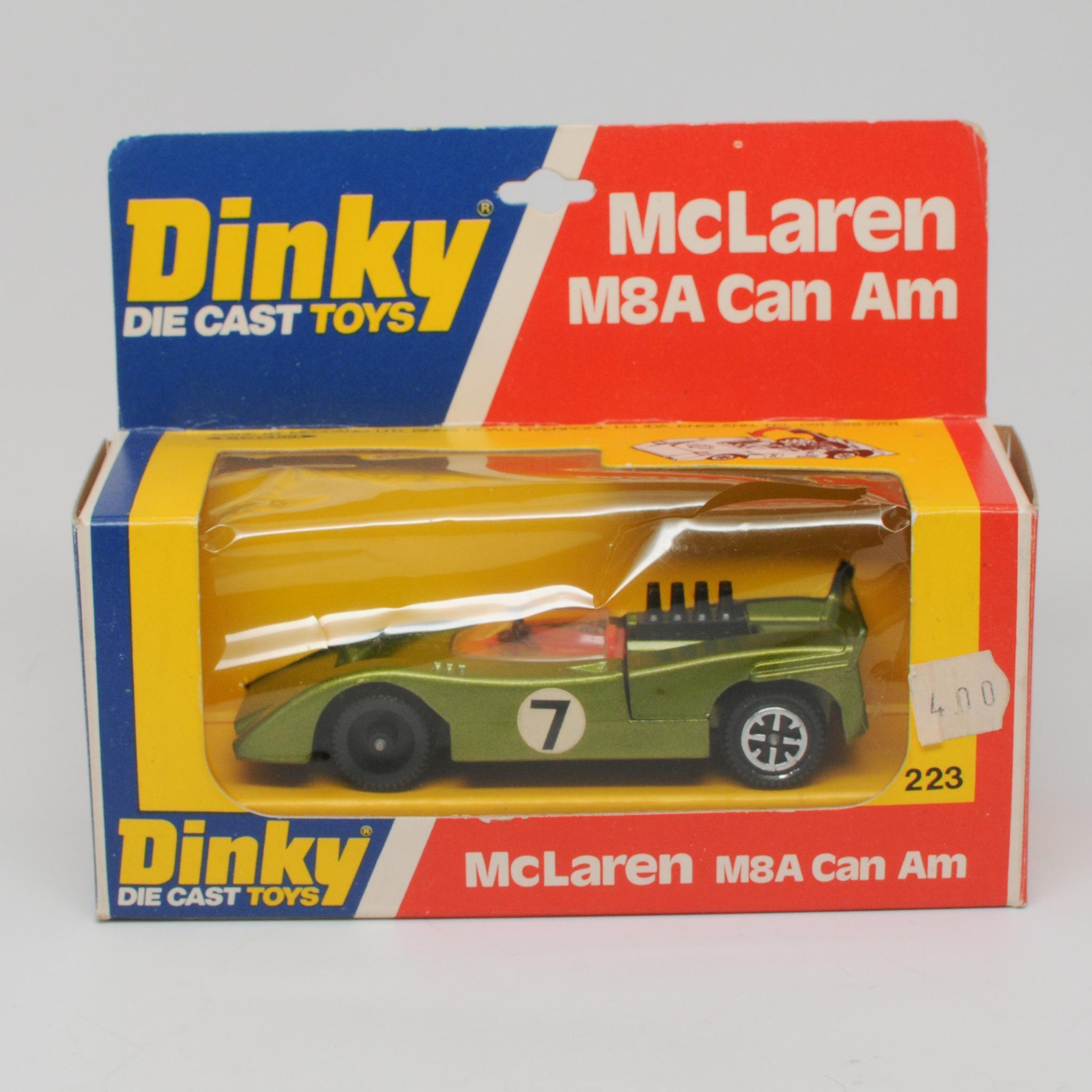 Dinky McLaren M8A Can Am Car MIB