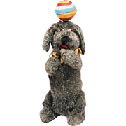 Cute Wind Up Twist Dog with Spinning Ball by Nomura Japan