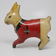 Vintage Wind Up Rabbit with Vibrating movement
