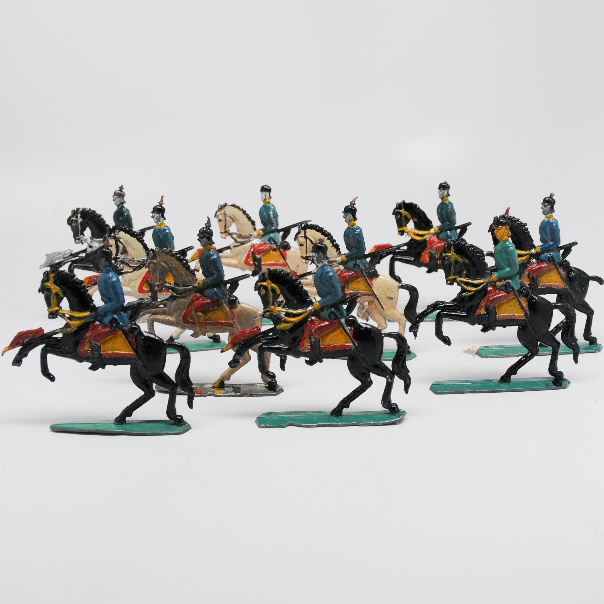 Very Colorful Set of Lead Soldiers