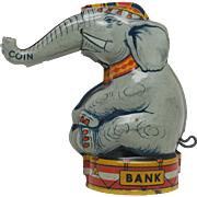 J Chein and Co USA  Elephant  Bank