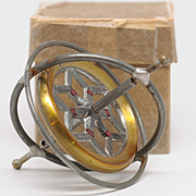 Wonderful old Gyroscope Toy with Fascinating Instructions