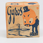 Gyros Spinning Top Toy Made in Germany