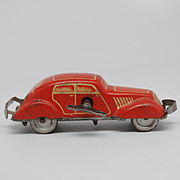 Rare U.S.Zone Germany Tin Wind-up Car Bump forward reverse