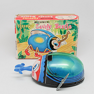 Mechanical Flapping 'Lovely Beetle' K Japan