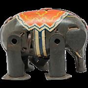 Vintage Tin Wind-up Elephant