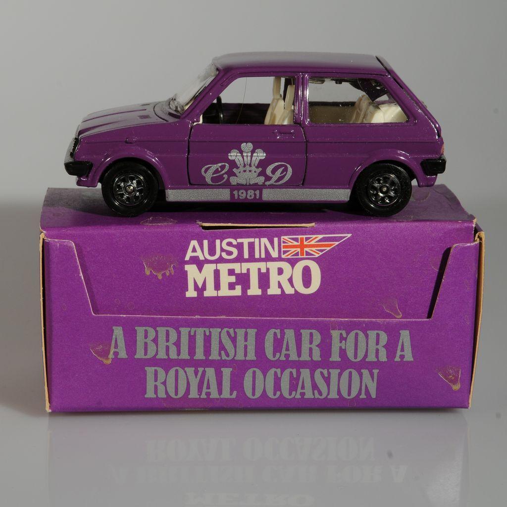 Princess Diana Royal Wedding Car 1981