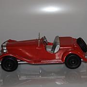 Hubley Diecast MG Sports Roadster (Restored)