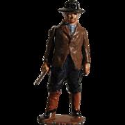 Britains Hollowcast Village Boy with Stick #558