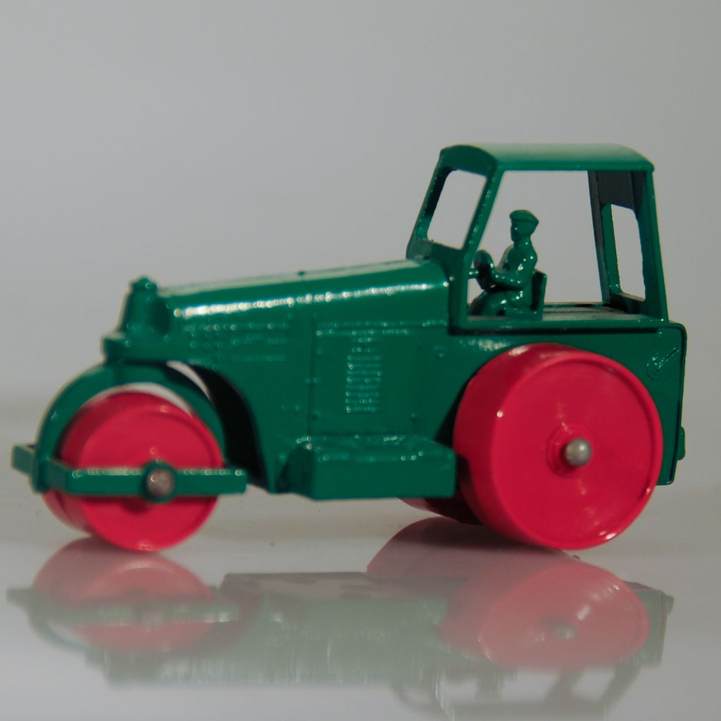 Dinky Toys Aveling barford road roller 25p c1948 by Tutuala  Road Roller Aveling