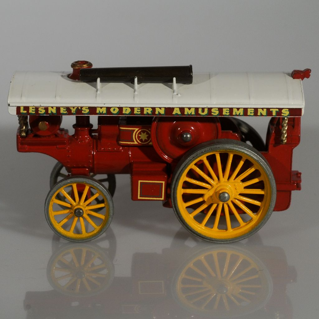 Matchbox Models of Yesteryear Fowler Showman's Engine, Red