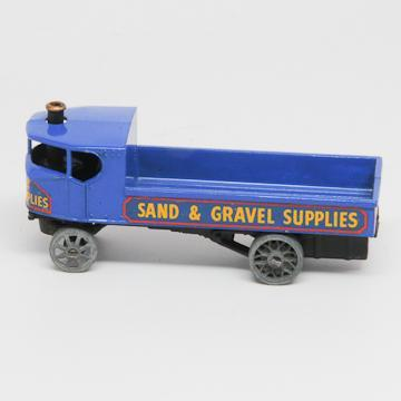 Lesney Matchbox Yesteryear Sentinel Steam Wagon  Sand and Gravel Truck