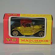 Vintage Lesney Matchbox Yesteryear Y-6 1913 Cadillac - Red Tag Sale Item
