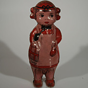 Vintage Tin Litho Betty by Lindstrom USA Wind-up Toy