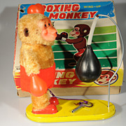 Wind-Up Boxing Monkey MM Japan