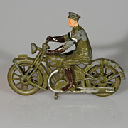 Britains Royal Signals Motorcycle Dispatch Rider from Set 1791