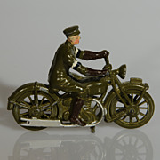 Britains Royal Signals Dispatch Rider army motorcycle from Set 1791