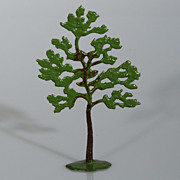 Vintage Britains Lead Small Tree