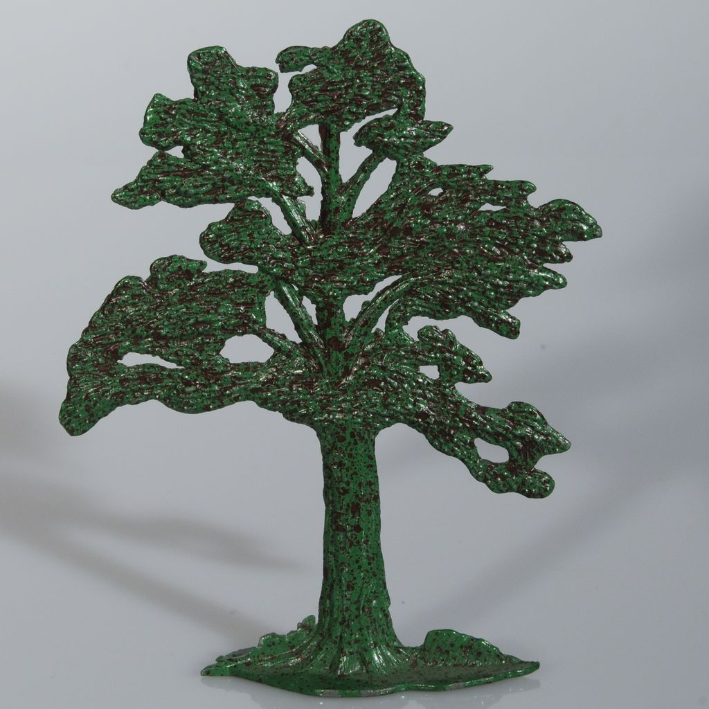 Vintage Lead Timpo Tree 4 inches for Farm or Railroad Layout