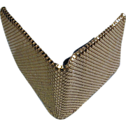 Whiting & Davis Gold Mesh Wallet - A Bit of Flash For Your Cash