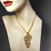 Not Your Ordinary Vintage Faux Pearl Necklace - Sautoir w/ Sass
